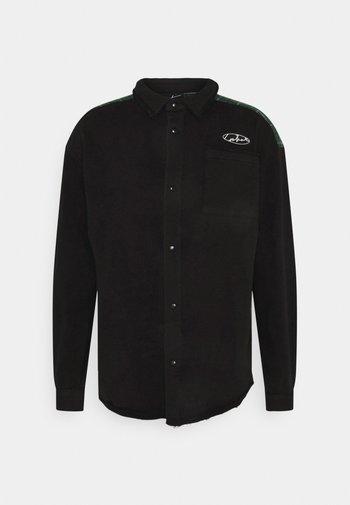 DISTRESSED ACID WASH  - Camisa - black