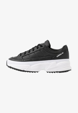 KIELLOR - Matalavartiset tennarit - core black/footwear white