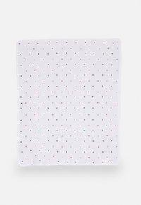 Tommy Hilfiger - BABY BLANKET UNISEX - Baby blanket - white - 0