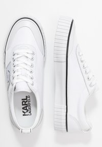KARL LAGERFELD - KAMPUS MAISON KARL LACE - Sneakers - white - 3