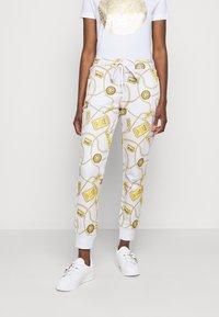 Versace Jeans Couture - Spodnie treningowe - white - 4