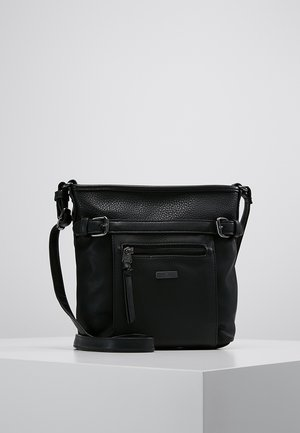 JUNA CROSSBAG - Across body bag - black
