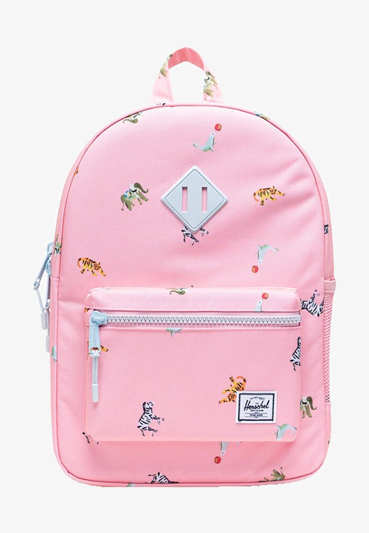 Herschel - School bag - candy pink circus animals