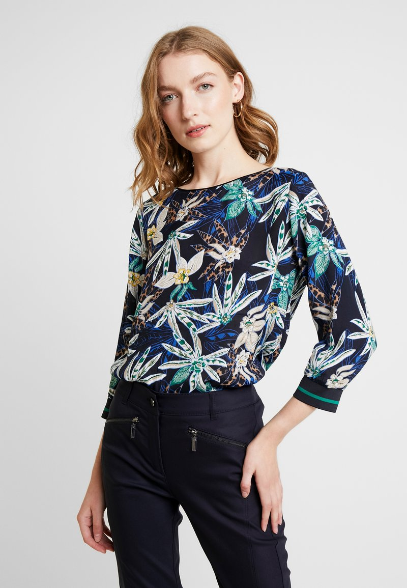 comma casual identity - 3/4 ARM - Blouse - blue