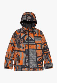 Quiksilver - MISSION - Snowboardová bunda - pureed pumpkin isere point - 0