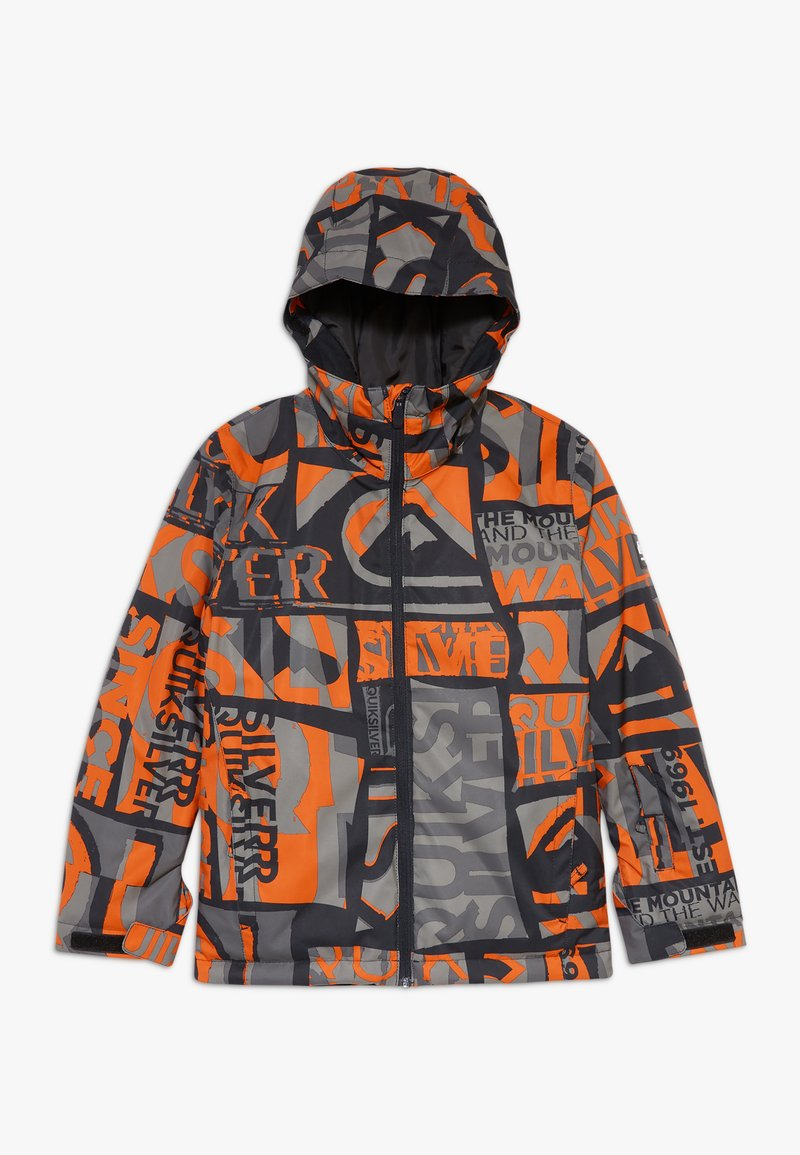 Quiksilver - MISSION - Snowboard jacket - pureed pumpkin isere point