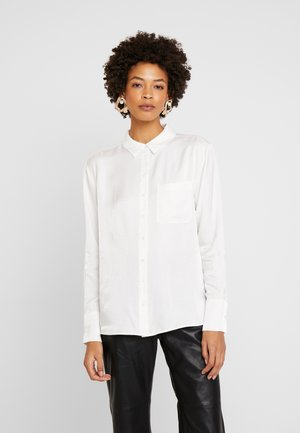 ZITA GLITTER - Button-down blouse - milk
