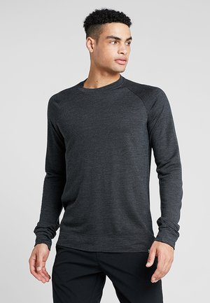 CAMPUS CREW - Long sleeved top - true black