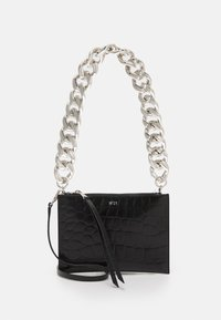N°21 - SMALL ZIPPED POUCH - Clutch - black - 0