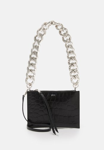 SMALL ZIPPED POUCH - Clutch - black