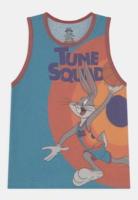 Outerstuff - SPACE JAM BOXED OUT UNISEX - Top - teal/orange - 0