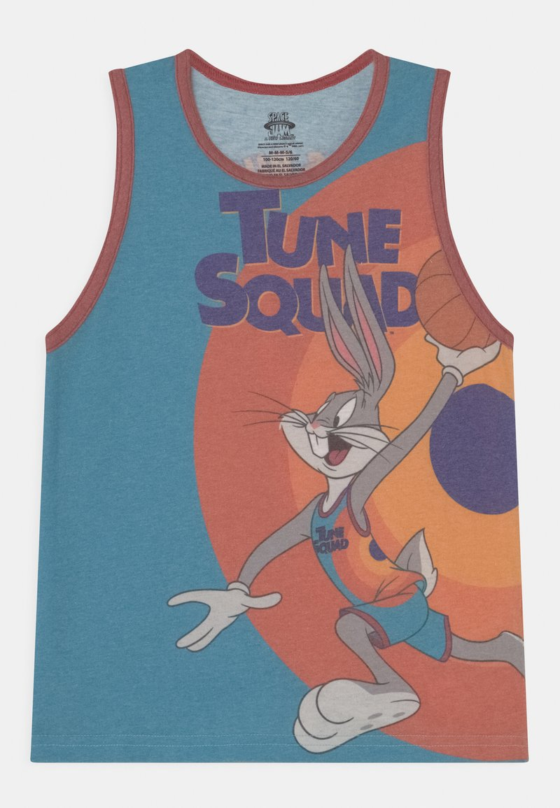 Outerstuff - SPACE JAM BOXED OUT UNISEX - Top - teal/orange