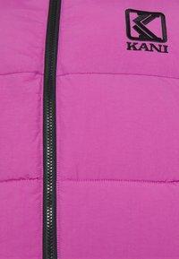 Karl Kani - PUFFER VEST UNISEX  - Liivi - light purple - 2
