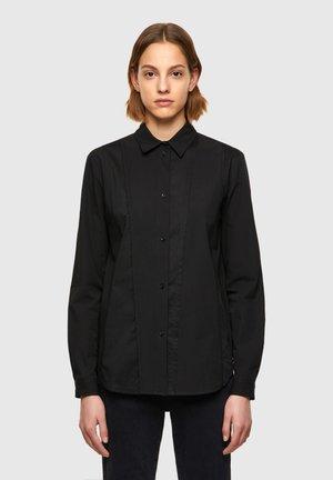 VOILE - Button-down blouse - black