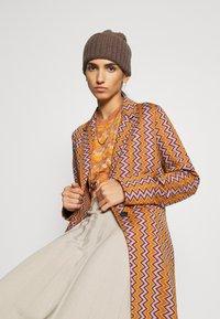 M Missoni - Print T-shirt - pumpkin - 4