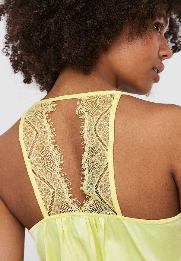 Vero Moda Bluzka - sunny lime/żÓłty PBWM