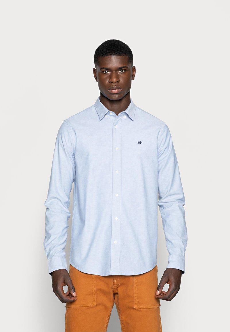 Scotch & Soda - REGULAR FIT OXFORD SHIRT WITH STRETCH - Shirt - blue