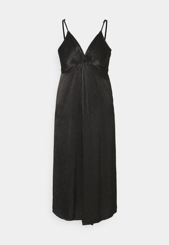 YASBRANDI STRAP MIDI DRESS - Koktejlové šaty/ šaty na párty - black