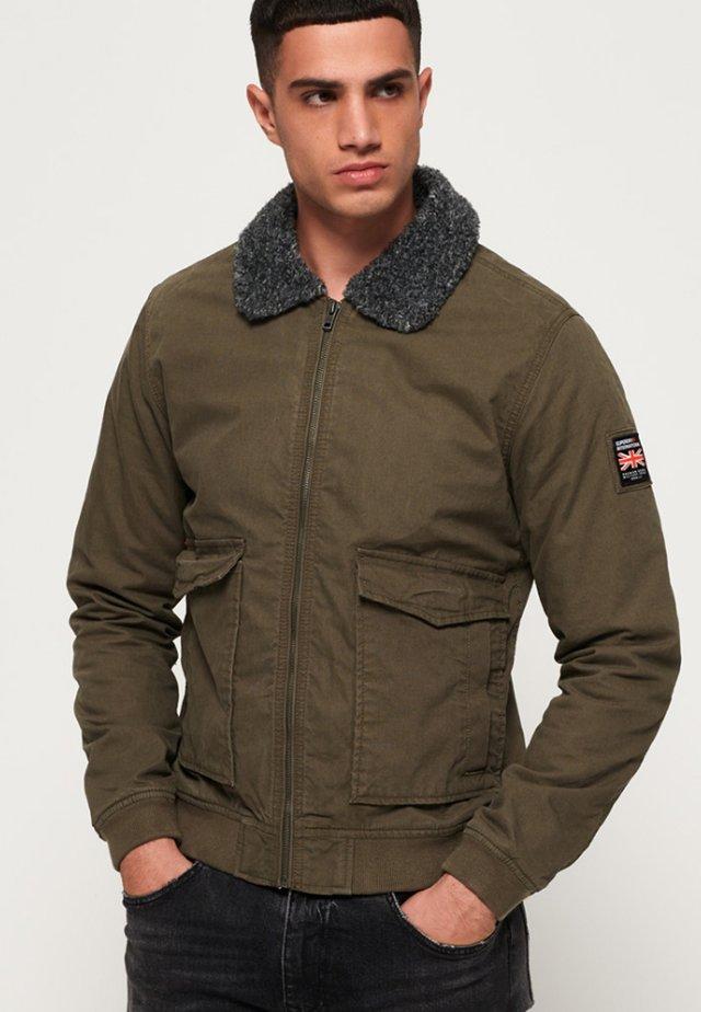 ROOKIE IM FLIEGERSTIL - Bomber Jacket - military khaki