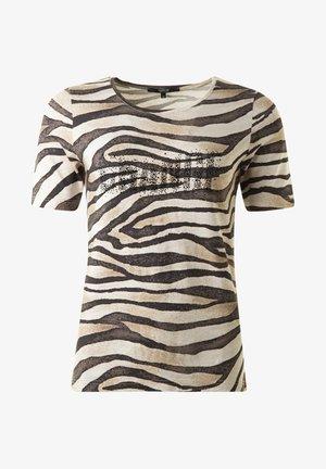 ZEBRA - Print T-shirt - scwarzweisssand
