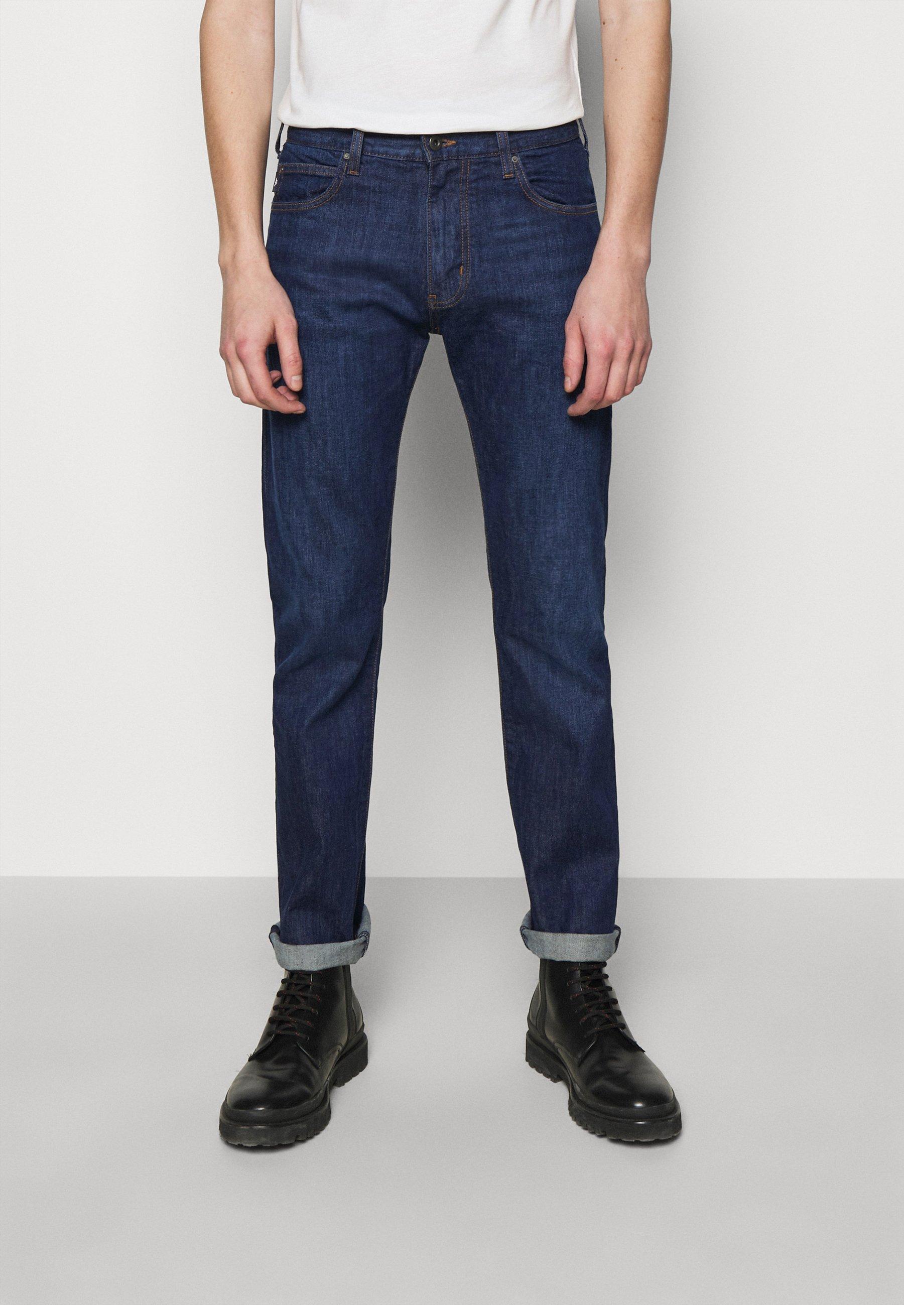 Men POCKETS PANT - Slim fit jeans - dark blue