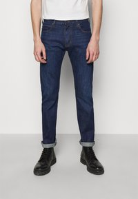 Emporio Armani - POCKETS PANT - Jeans slim fit - dark blue - 0