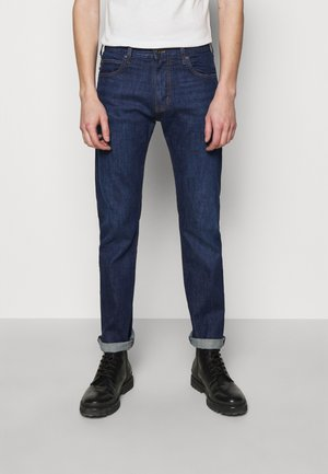 POCKETS PANT - Slim fit jeans - dark blue