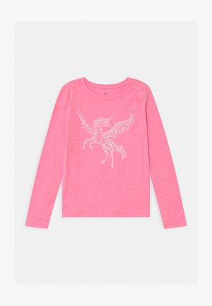 GIRL - Camiseta de manga larga - neon pink rose