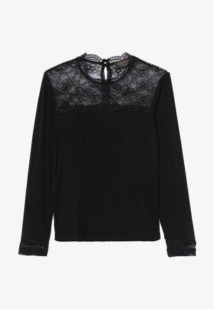 T-SHIRT LS - Bluzka z długim rękawem - black