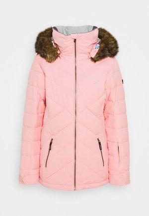 QUINN  - Snowboard jacket - silver pink