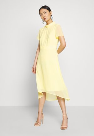 Cocktail dress / Party dress - lime yellow
