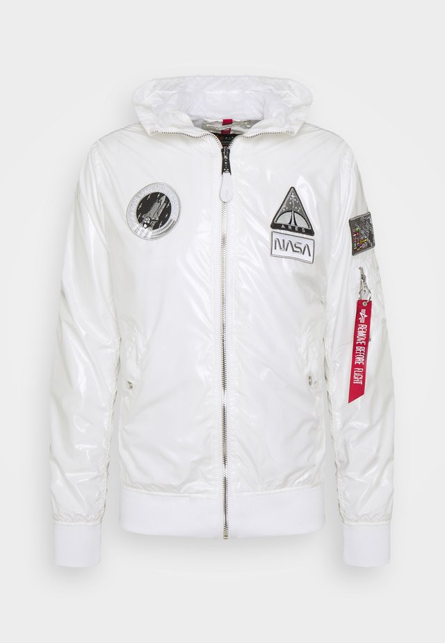 HOODED NASA - Summer jacket - white