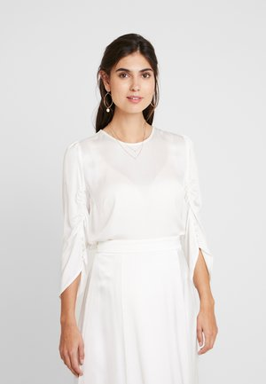 BRIDAL BLOUSE - Blusa - snow white