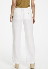 Part Two - BEGITTAPW - Trousers - bright white - 2