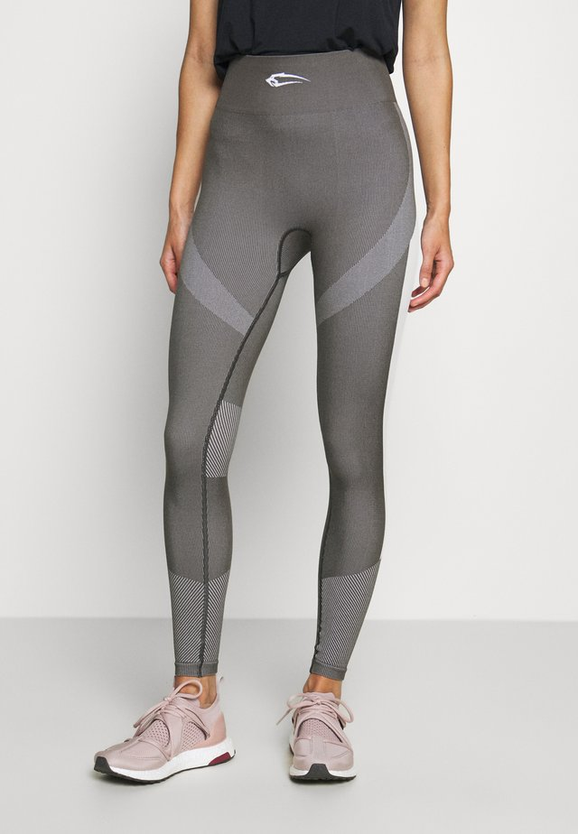 SEAMLESS LEGGINGS ULTIMATE - Trikoot - anthrazit