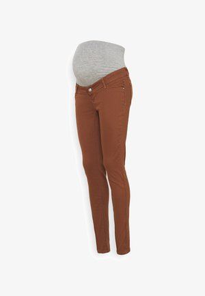 MLAMALFI COLOR - Jeans Skinny - friar brown