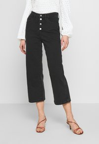 Levi's® - MILE HIGH BUTTONS - Flared Jeans - dust and ash - 0