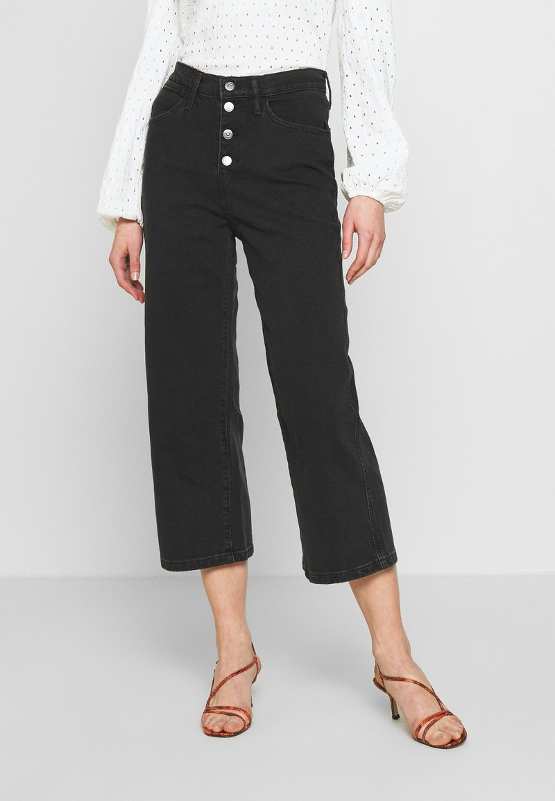 Levi's® - MILE HIGH BUTTONS - Flared Jeans - dust and ash