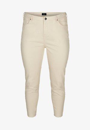 Slim fit jeans - ecru