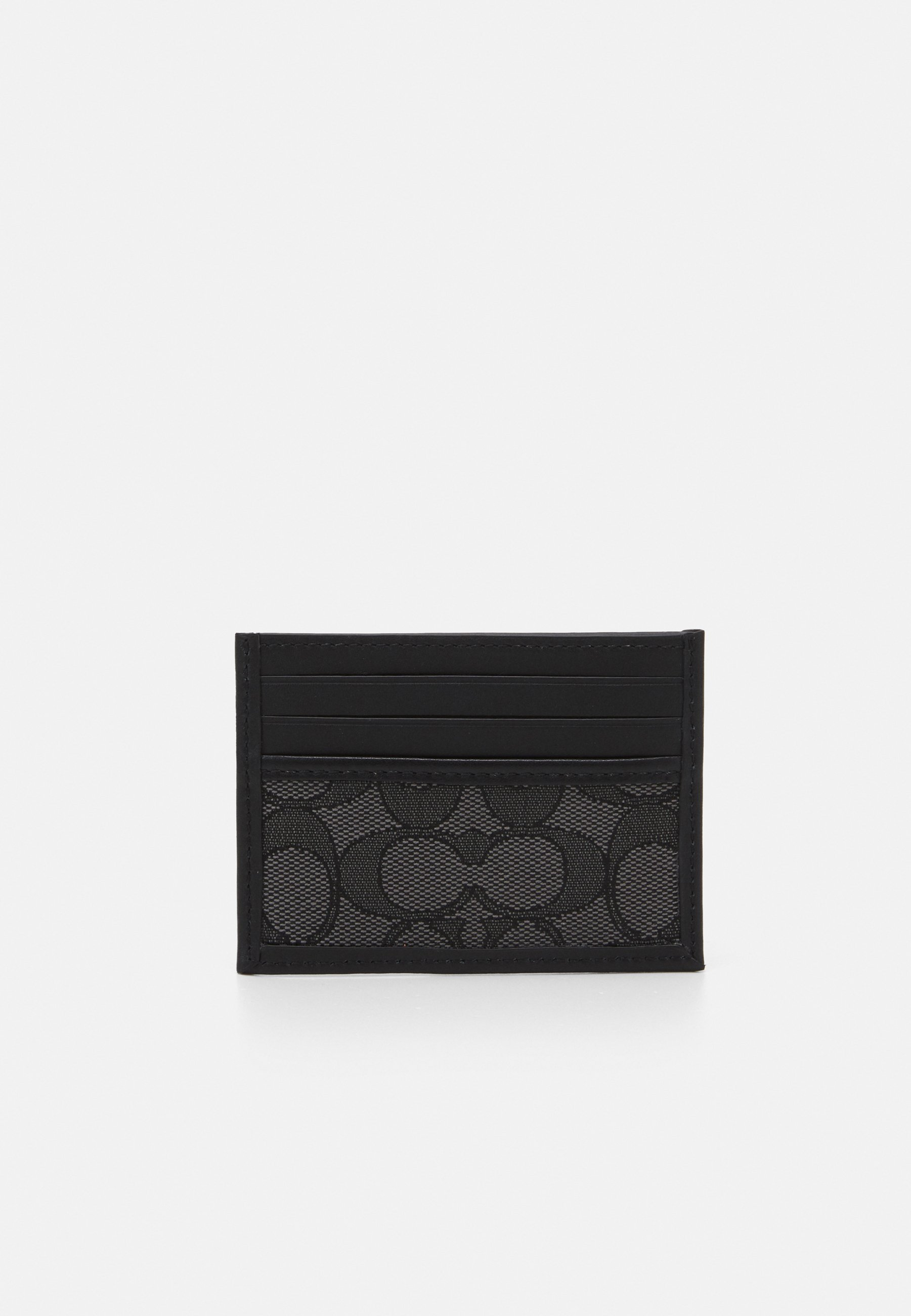 Women REFINED CARD CASE IN SIGNATURE UNISEX - Wallet