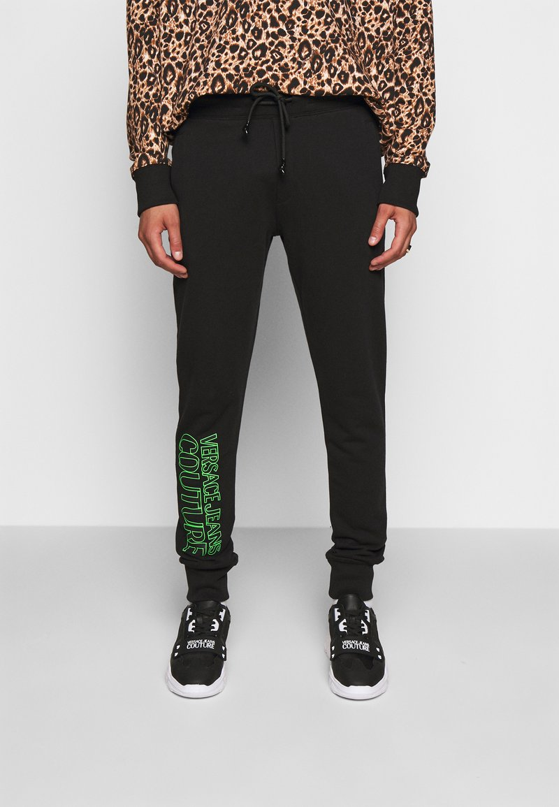 Versace Jeans Couture - FELPA - Teplákové kalhoty - black