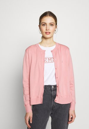 LIGHT CREW CARDIGAN - Cardigan - summer rose