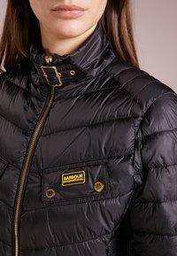 Barbour International - GLEANN QUILT - Light jacket - black - 3