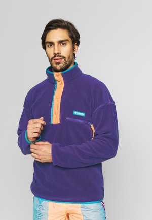 HELVETIA™ HALF SNAP - Fleece jumper - vivid purple