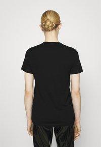 Diesel - T-SILY-K10 - Print T-shirt - black - 2