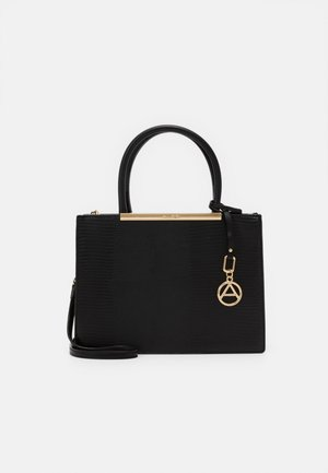 PHYTOBIA - Handbag - jet black/gold-coloured