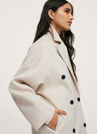 Mango - Classic coat - steenkleur - 4