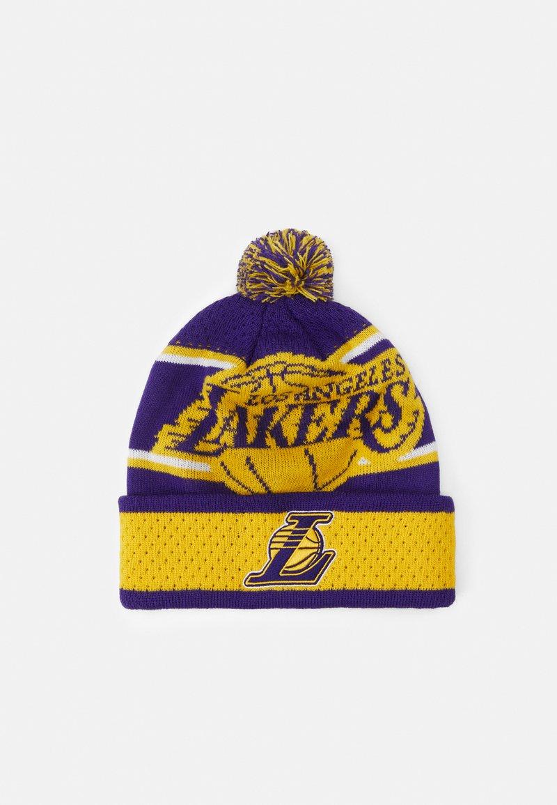 Outerstuff - NBA LA LAKERS LOCKER ROOM UNISEX - Mütze - purple