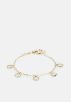 BESSIE CHARM BRACE - Bracelet - gold-coloured/clear