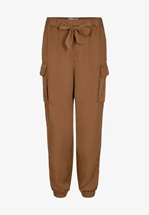Cargo trousers - toffee
